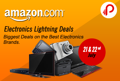 Hurry UP Amazon Electronics Lightning Deals