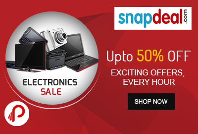 Grab Exciting SnapDeal Electronics Items Offers, Every Hour!