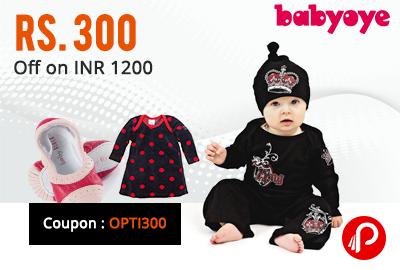 300 Off on 1200 - Babyoye on all Products
