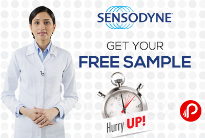 Get #Free Sample of Sensodyne Toothpaste