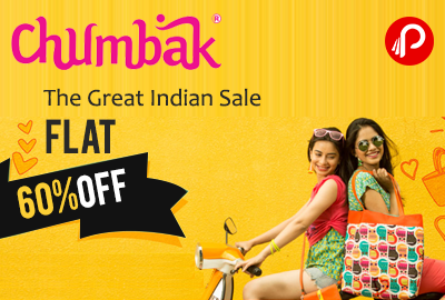 Flat 60% OFF On The Great Indian Sale On Chumbak.com