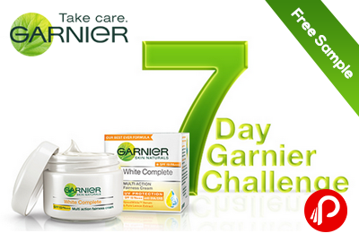 #7daygarnierchallenge - Get Free Sample of The Garnier