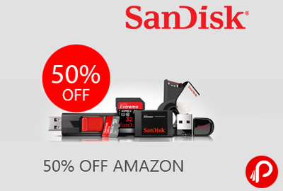 Pen Drives, Memory Cards & Hard Drives upto 50% off – Amazon