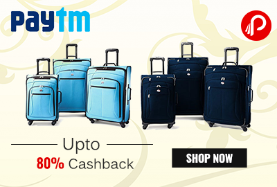 upto 80% on American Tourister Bags & Luggage