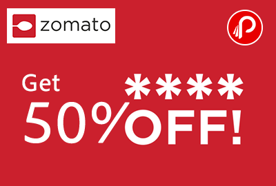 Get 50% off on First order of Food - Zomato
