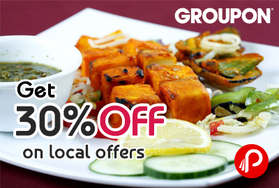 Get 30% off on local offers - Groupon