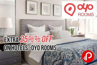 EXTRA 25% OFF on hotels - OYO Rooms