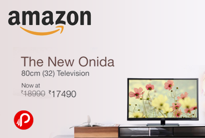 Get New onida 32inch LED TV in only Rs.17490 - Amazon