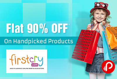 Get Flat 90% off on Handpicked Products - Firstcry