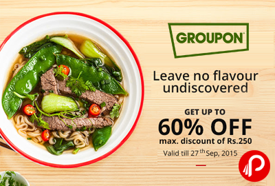 Groupon Local Deals Extra 60% off + 15% off