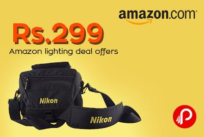 Get Nikon DSLR Shoulder Bag in Rs.299 - Amazon