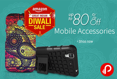Get UPTO 80% off Mobile Accessories - Amazon