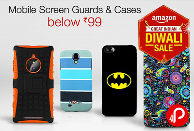 Mobile Screen Guard & cases Below Rs.99 - Amazon
