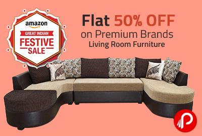 Living Room Furniture   Flat 50% OFF on Premium Brands - Amazon