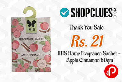 Get Only in ₹21 IRIS Home Fragrance Sachet – Shopclues