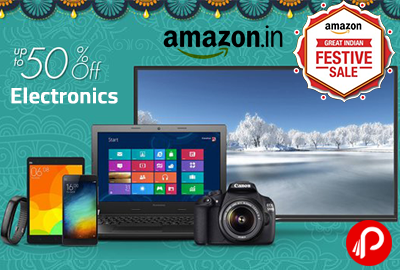 Get UPTO 50% off on Electronics in Dhamaka Deals - Amazon