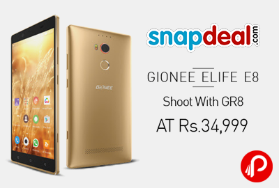 Gionee Elife E8 Mobile Phone in Only Rs.34,999 - Snapdeal
