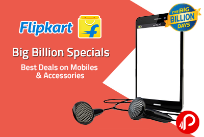 Get Great Discounts on Mobiles | Big Billion Mobile Special Deals - Flipkart