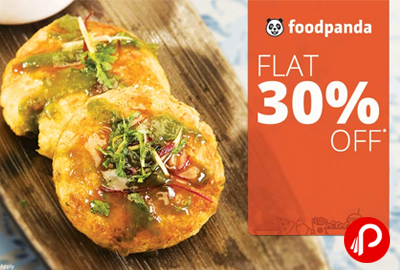 Get Flat 30% off on Selected Restaurants on Online Payment - FoodPanda