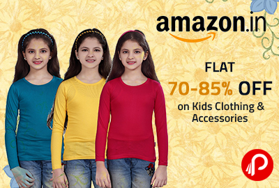 Flat 70-85% OFF on Kids Clothing & Accessories - Amazon