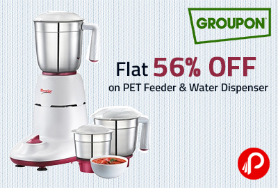Get Flat 38% OFF on Prestige Hero Mixer Grinder - Groupon