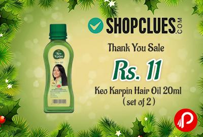 Get Only in ₹11 Keo Karpin Hair Oil 20ml – Shopclues