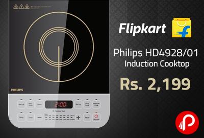 Get 53% off on Philips HD4928/01 Induction Cooktop - Flipkart