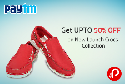 Get UPTO 50% OFF on New Launch Crocs Collection - Paytm