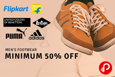 Get Minimum 50% off on Sports shoes - Flipkart