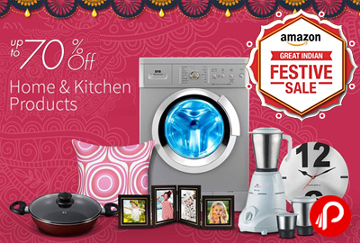 Get UPTO 50% off on Home & Kitchen Products in Dhamaka Deals - Amazon