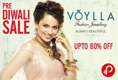 Get Upto 60% Off on Jewellery | Pre Diwali Sale - Voylla