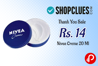 Get Only in ₹14 Nivea Creme 20 Ml – Shopclues