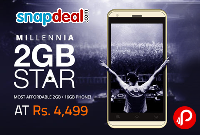 Get Celkon 2GB Star 16GB Only in Rs.4499 - Snapdeal