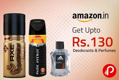 Getupto72% off onDeodorants & Perfumesfrom Rs. 130 – Amazon