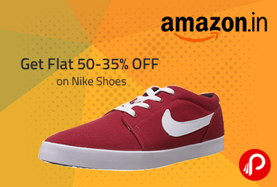 Get Flat 50-35% OFF on Nike Shoes - Amazon