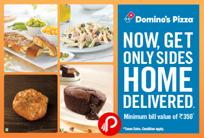 Get Only 'Sides' Home Delivered - Domino's pizza