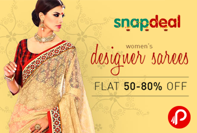 Get FLAT 50-80% off on Women Fashion - Snapdeal
