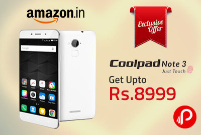 Amazon Exclusive Coolpad Note 3 Rs. 8999