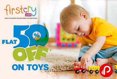 Get Flat 50% OFF on Toys - Firstcry