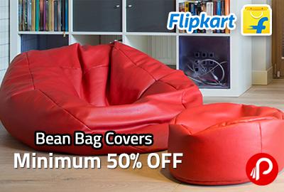 Get Flat 50% OFF on Bean Bags - Flipkart
