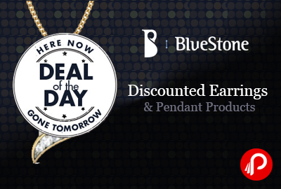 Discounted Earrings & Pendant Products   Deal Of The Day Deals - Bluestone