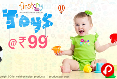 Get Toys @ Rs. 99 only - Firstcry