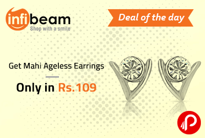 Get Mahi Ageless Earrings only in Rs.109 - Infibeam