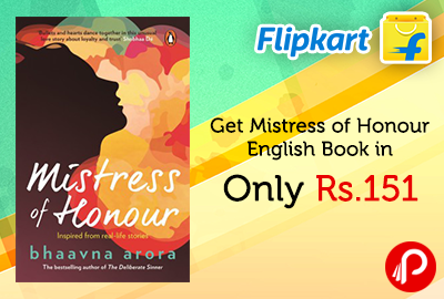 Get Mistress of Honour English Book in Only Rs.151 - Flipkart