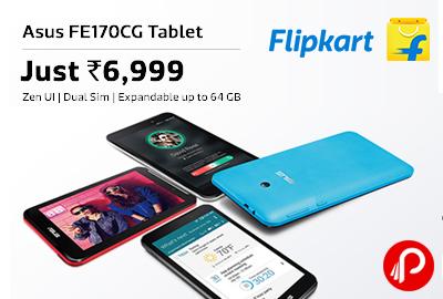 Get Asus FE170CG Tablet Just in Rs.6999 - Flipkart