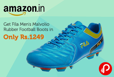 Get Fila Men's Malvolio Rubber Football Boots in only Rs.1249 - Amazon