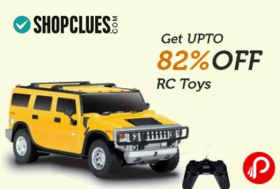 Get UPTO 82% off RC Toys - Shopclues