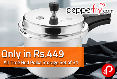 Pigeon Aluminium 3 L Pressure Cooker Only in Rs.449 | 6PM - 10PM Today - Pepperfry