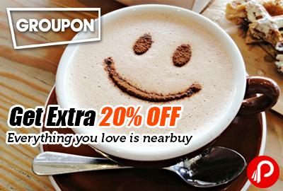Get Extra 20% off on Jaipur Cafe Festival - Groupon