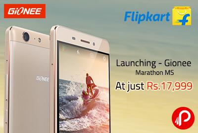 Get Gionee Marathon M5 Mobile At Just Rs. 17999 - Flipkart